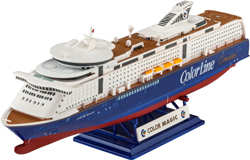 Revell - Germany M/S Color Magic 1:1200, LIST PRICE $12.95