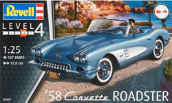 Revell - Germany '53 Corvette Roadster 1:25, LIST PRICE $39.95