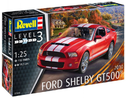 Revell - Germany '10 Shelby Ford GT 50 1:25, LIST PRICE $41.95