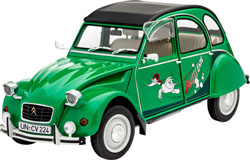 Revell - Germany Citroen 2Cv Sauss Ente 1:24, LIST PRICE $34.95