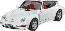 Revell - Germany PORSCHE 911 CARRERA CABRIO :24, LIST PRICE $34.95