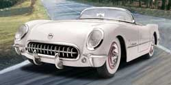 Revell - Germany '53 CORVETTE ROADSTER 1:25, LIST PRICE $34.95