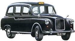 Revell - Germany London Taxi 1:24, LIST PRICE $47.95