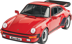 Revell - Germany Porsche 911 Turbo 1:25, LIST PRICE $29.95