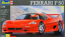 Revell - Germany FERRARI F 50 COUPE 1:24, LIST PRICE $34.95