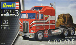 Revell - Germany Kenworth Aerodyne 1:32, LIST PRICE $31.95