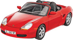 Revell - Germany Porsche Boxster 1:24, LIST PRICE $34.95