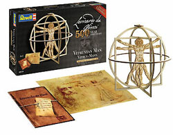 Revell - Germany 1:16 Vitruvian Man (500 Years LdV) , DUE 5/30/2019, LIST PRICE $17.66