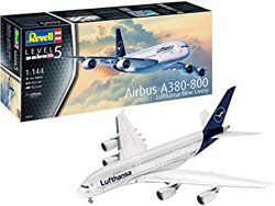 Revell - Germany 1:144 Airbus A380-800 Lufthansa New Li , DUE 6/30/2019, LIST PRICE $35.34