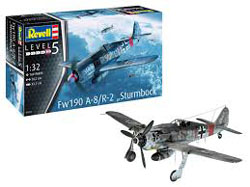 Revell - Germany 1:32 Fw190 A-8/R-2 Sturmbock , DUE 5/30/2019, LIST PRICE $47.69