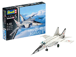 Revell - Germany 1:72 MiG-25 RBT , DUE 7/30/2019, LIST PRICE $28.82