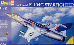 Revell - Germany 1:72 F-104 G Starfighter NL/B    , DUE 11/30/2019, LIST PRICE $17.66