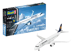 Revell - Germany 1:144 Embraer 190 Lufthansa New Livery , DUE 6/30/2019, LIST PRICE $17.66