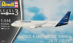 "Revell - Germany 1:144 Airbus A320 neo Lufthansa""New Li , DUE 9/30/2019, LIST PRICE $23.56"