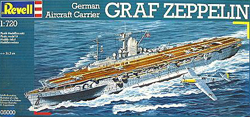 Revell - Germany 1:720 German Aircraft Carrier GRAF ZEP , DUE 6/30/2019, LIST PRICE $23.56