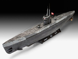 Revell - Germany 1:72 German Submarine Type IX C U67/U , DUE 9/30/2019, LIST PRICE $117.21