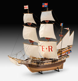 Revell - Germany 1:96 English Man O'War , DUE 8/30/2019, LIST PRICE $117.21