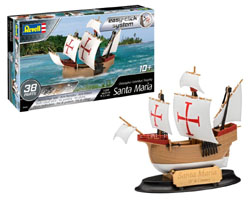 Revell - Germany 1:350 Santa Maria , DUE 9/30/2019, LIST PRICE $15.22