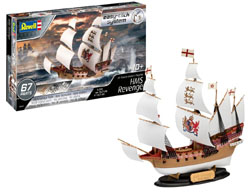 Revell - Germany 1:350 HMS Revenge , DUE 9/30/2019, LIST PRICE $21.18