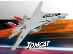 Revell - Germany 1:100 Build & Play F-14 Tomcat , DUE 8/30/2019, LIST PRICE $11.69