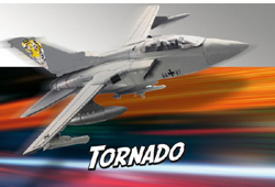 Revell - Germany 1:100 Build & Play Tornado IDS , DUE 8/30/2019, LIST PRICE $11.69