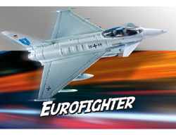 Revell - Germany 1:100 Build & Play Eurofighter Typhoon , DUE 8/30/2019, LIST PRICE $11.69