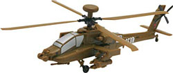 Revell - Germany 1:100 Build & Play AH-64 Apache , DUE 8/30/2019, LIST PRICE $11.69