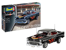 Revell - Germany 1:24 1956 Chevy Custom , DUE 5/30/2019, LIST PRICE $35.34