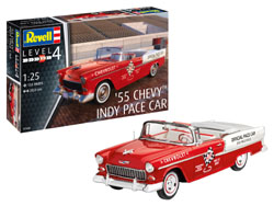 Revell - Germany 1:25 1955 Chevy Indy Pace Car , DUE 6/30/2019, LIST PRICE $35.34