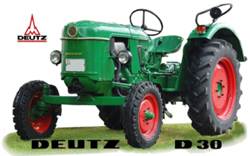 Revell - Germany 1:24 Deutz D30 , DUE 8/30/2019, LIST PRICE $28.82