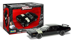 Revell - Germany 1/24 Dom's 1971 Plymouth GTX 2'N'1 , DUE 6/30/2020, LIST PRICE $26.95