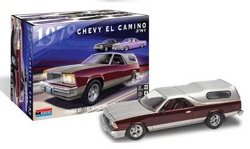 Revell - Germany 1/24 1978 Chevy El Camino 3'N'1 , DUE 6/30/2020, LIST PRICE $26.95