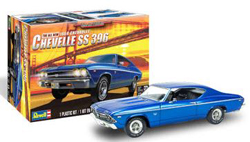 Revell - Germany 1/25 1969 Chevy Chevelle SS 396 , DUE 6/30/2020, LIST PRICE $26.95