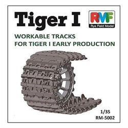Ryefield Models Tiger I Workable Tracks 1:35, LIST PRICE $37.99