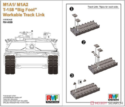 Ryefield Models M1A1/A2 T-158 Big Foot Link:35, LIST PRICE $29