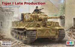 Ryefield Models Tiger I Late 1:35, LIST PRICE $72.99