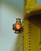 Tomar HO ADLAKE MARKER LIGHTS G-G-R LENSES, LIST PRICE $17.7