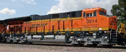 Intermountain HO BNSF - New Image ET44C4 w/Snd, DUE 10/1/2016, LIST PRICE $299.95