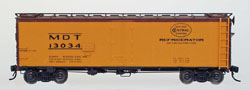 Intermountain HO R-40-23 Reefer MDT-Yellow #13073, LIST PRICE $32.95