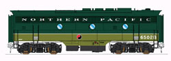 Intermountain HO EMD F3B Standard DC Northern Pacific (Loewy 2 Tone Green,, LIST PRICE $139.95