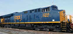 Intermountain HO CSXT ET44AH #3262, DUE 10/1/2017, LIST PRICE $199.95