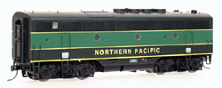 Intermountain HO EMD F3B w/Snd NP black, green Band, LIST PRICE $199.95