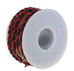 Wire Works 2c Wire 20g 25' blk/red, LIST PRICE $11