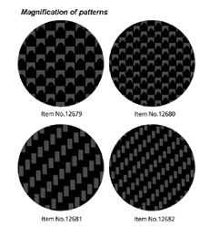 Tamiya Carbon Pat Decal Weave Fine, LIST PRICE $8.25