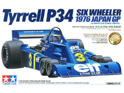Tamiya 1/20 Tyrell P34 Six Wheeler, LIST PRICE $57