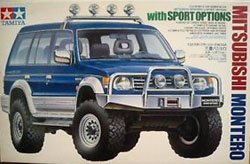 Tamiya 1/24 Mitsubishi Montero with Sport Options, LIST PRICE $53