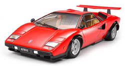 Tamiya 1/24 Lamborghini Countach, LIST PRICE $46