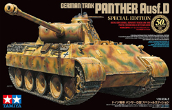 Tamiya 1/35 German Tank Panther Ausf.D Special Edition, DUE 12/30/2018, LIST PRICE $87