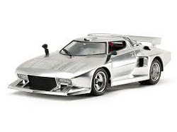 Tamiya 1/24 Lancia Stratos Turbo, Silver Plated Ltd Ed, DUE 2/28/2019, LIST PRICE $40