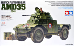 Tamiya 1/35 French Armored Car AMD35, 1940, LIST PRICE $40